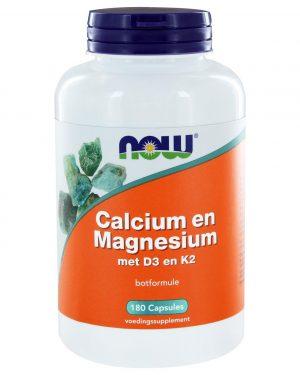 6211 300x375 - Calcium & Magnesium DK (180 caps) - NOW Foods