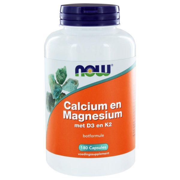 6211 600x600 - Calcium & Magnesium DK (180 caps) - NOW Foods
