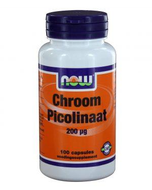 6320 300x375 - Chroom Picolinaat 200 μg (100 caps) - NOW Foods