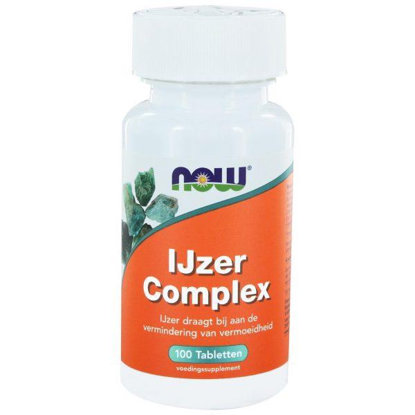 6410 600x600 - IJzer Complex (100 tabs) - NOW Foods
