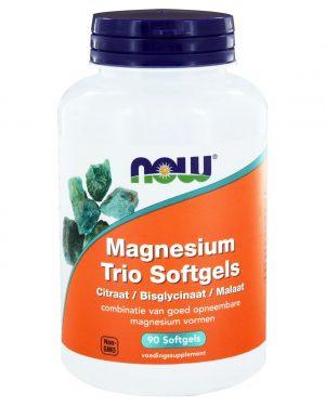 6507 300x375 - Magnesium Trio Softgels (90 softgels) - NOW Foods