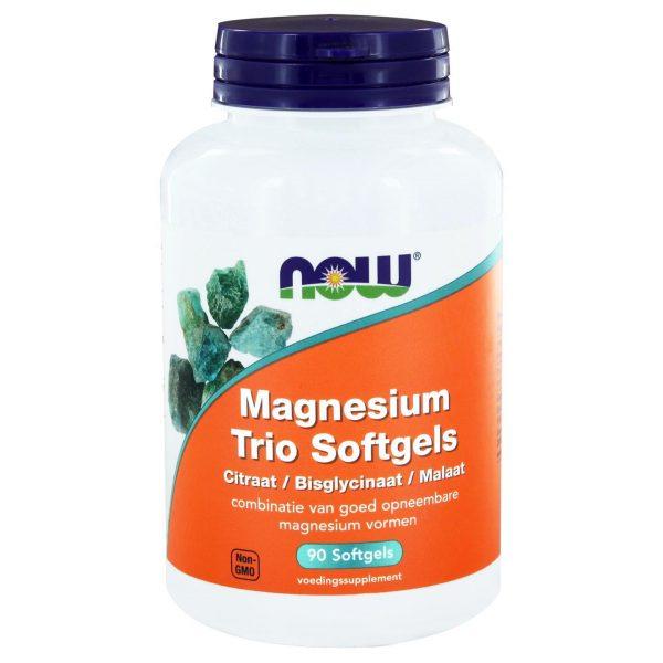 6507 600x600 - Magnesium Trio Softgels (90 softgels) - NOW Foods