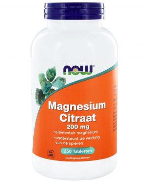 6509 300x375 - Magnesium Citraat 200 mg (250 tabs) - NOW Foods