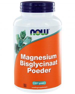 6512 300x375 - Magnesium Bisglycinaat Poeder (227 gram) - NOW Foods