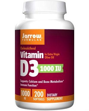 6 25 300x375 - Vitamin D3 1000 IU (200 softgels) - Jarrow Formulas