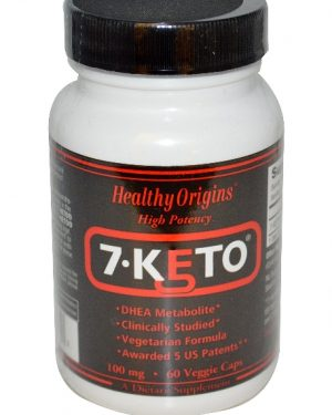 7 keto healthy origins 1 300x375 - 7-Keto 100 mg (60 Veggie Caps) - Healthy Origins