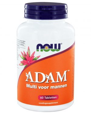 7229 300x375 - ADAM Multivitamine voor mannen (60 tabs) - NOW Foods