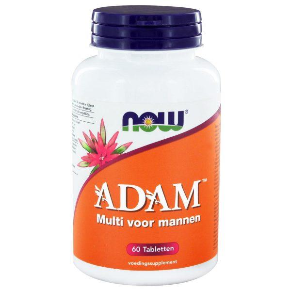 7229 600x600 - ADAM Multivitamine voor mannen (60 tabs) - NOW Foods