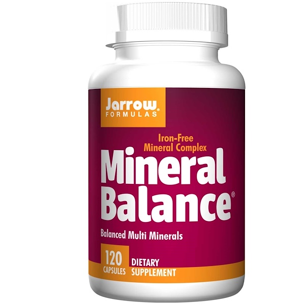 7 56 - Mineral Balance (120 Capsules) - Jarrow Formulas