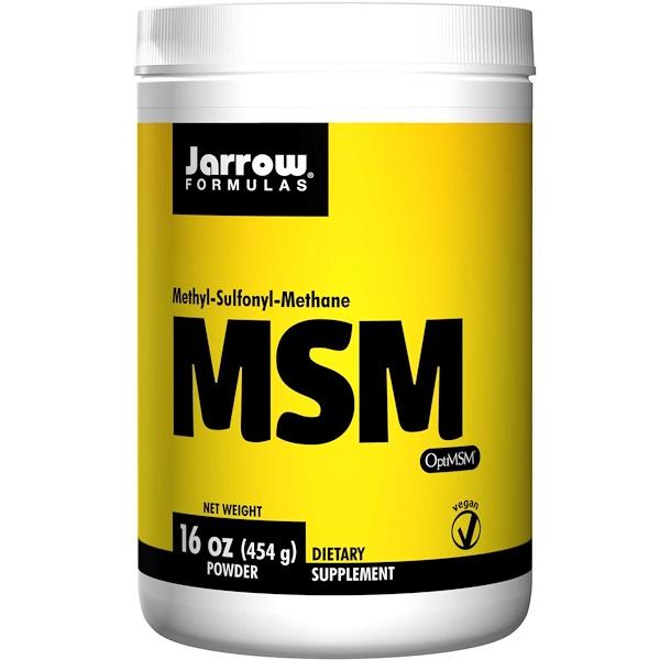7 66 - MSM Powder (454 gram) - Jarrow Formulas