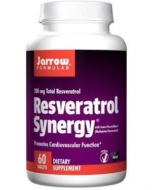7 90 300x375 - Resveratrol Synergy 200 mg Total Resveratrol (60 tablets) - Jarrow Formulas