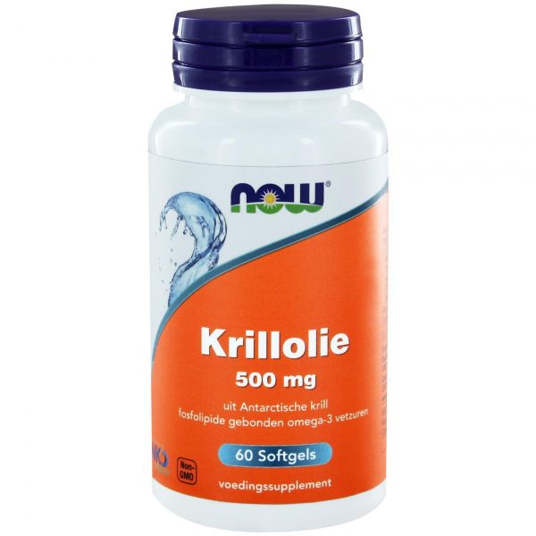 8010 600x600 - Krillolie 500 mg (60 softgels) - NOW Foods