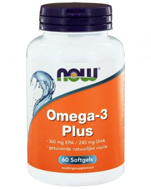 8020 300x375 - Omega-3 Plus 360 mg EPA 240 mg DHA (60 softgels) - NOW Foods