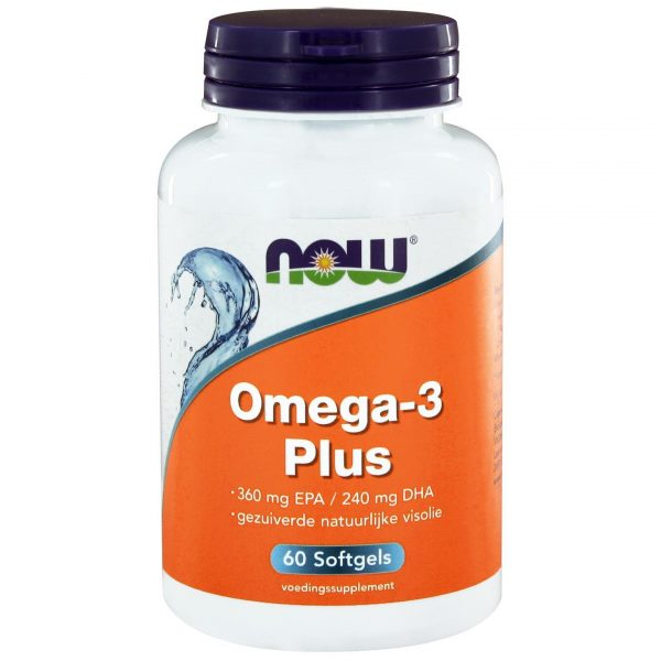 8020 600x600 - Omega-3 Plus 360 mg EPA 240 mg DHA (60 softgels) - NOW Foods