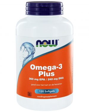 8021 300x375 - Omega-3 Plus 360 mg EPA 240 mg DHA (120 softgels) - NOW Foods