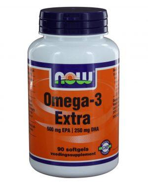 8025 300x375 - Omega-3 Extra 500 mg EPA 250 mg DHA (90 softgels) - NOW Foods