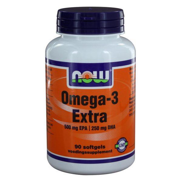 8025 600x600 - Omega-3 Extra 500 mg EPA 250 mg DHA (90 softgels) - NOW Foods