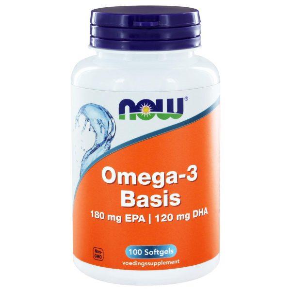 8030 600x600 - Omega-3 1000 mg (100 softgels) - Now Foods