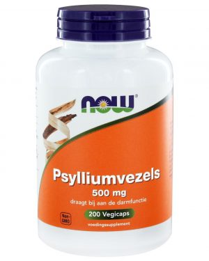8330 300x375 - Psylliumvezels 500 mg (200 caps) - NOW Foods