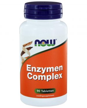 8410 300x375 - Enzymen Complex (90 tabs) - NOW Foods