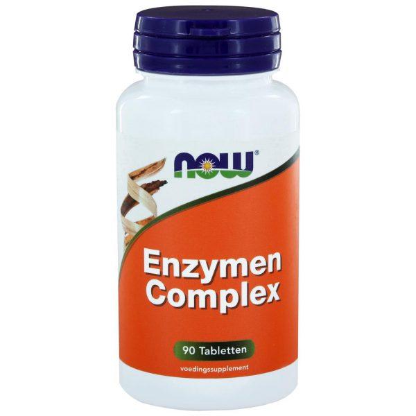 8410 600x600 - Enzymen Complex (90 tabs) - NOW Foods