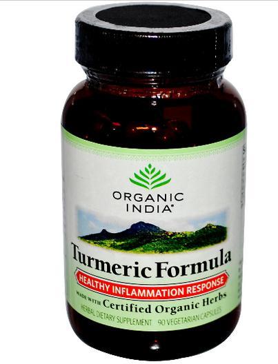 851469000113.01 - Turmeric Formula, Healthy Inflammation Response (90 Veggie Caps) - Organic India