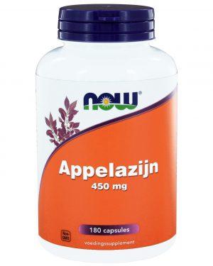 8902 300x375 - Appelazijn 450 mg (180 caps) - NOW Foods