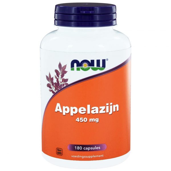 8902 600x600 - Appelazijn 450 mg (180 caps) - NOW Foods