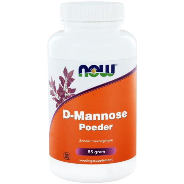 8909 600x600 - D-Mannose Poeder (85 gram) - NOW Foods
