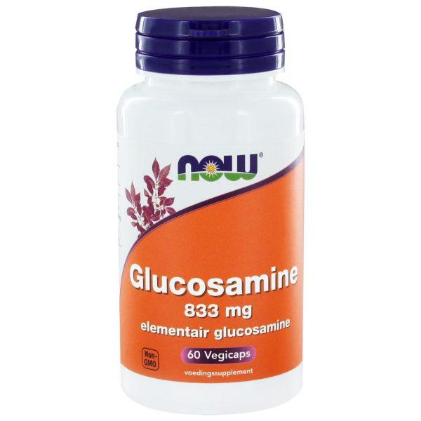 8944 600x600 - Glucosamine (60 vegicaps) - NOW Foods