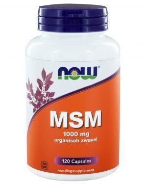 8990 300x375 - MSM 1000 mg (120 caps) - NOW Foods