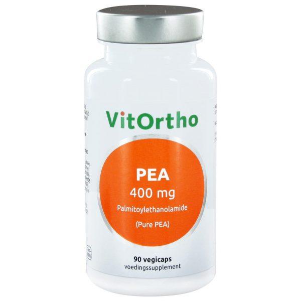 8991 600x600 - PEA 400 mg palmitoylethanolamide (Pure PEA) (90 vegicaps) - VitOrtho