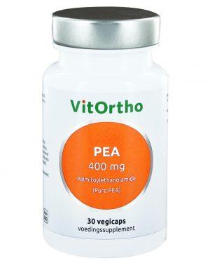 8993 300x375 - PEA 400 mg palmitoylethanolamide (Pure PEA) (30 vegicaps) - VitOrtho