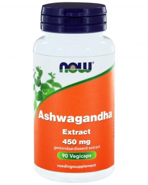 9040 300x375 - Ashwagandha Extract 450 mg (90 vegicaps) - NOW Foods