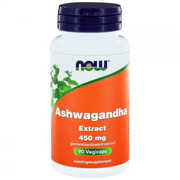 9040 600x600 - Ashwagandha Extract 450 mg (90 vegicaps) - NOW Foods