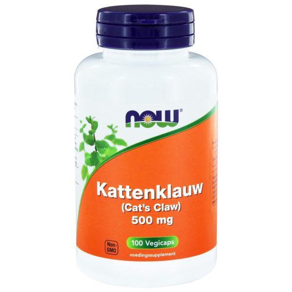 9065 600x600 - Kattenklauw 500 mg (100 vegicaps) - NOW Foods