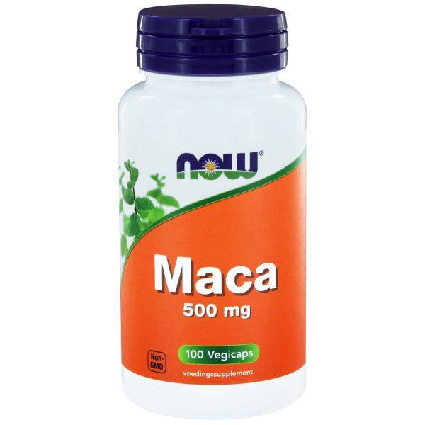 9190 600x600 - Maca 500 mg (100 vegicaps) - NOW Foods