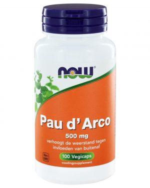 9204 300x375 - Pau d'Arco 500 mg (100 vegicaps) - NOW Foods