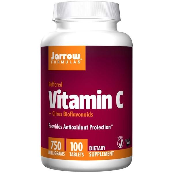 9 13 - Vitamin C 750 mg (100 tablets) - Jarrow Formulas