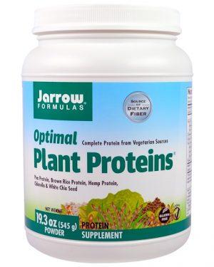 9 25 300x375 - Optimal Plant Proteins Powder (545 g) - Jarrow Formulas