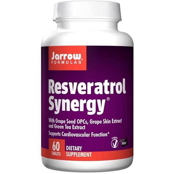 9 38 - Resveratrol Synergy (60 tablets) - Jarrow Formulas