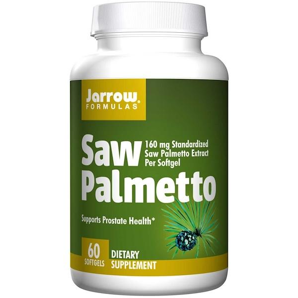 9 40 - Saw Palmetto 160 mg (60 softgels) - Jarrow Formulas