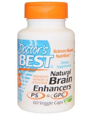 DRB 00214 7 300x375 - Natural Brain Enhancers PS & GPC (60 Veggie Caps) - Doctor's Best