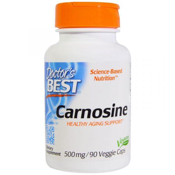 DRB 00359 7 600x600 - Carnosine 500 mg (90 Veggie Caps) - Doctor's Best