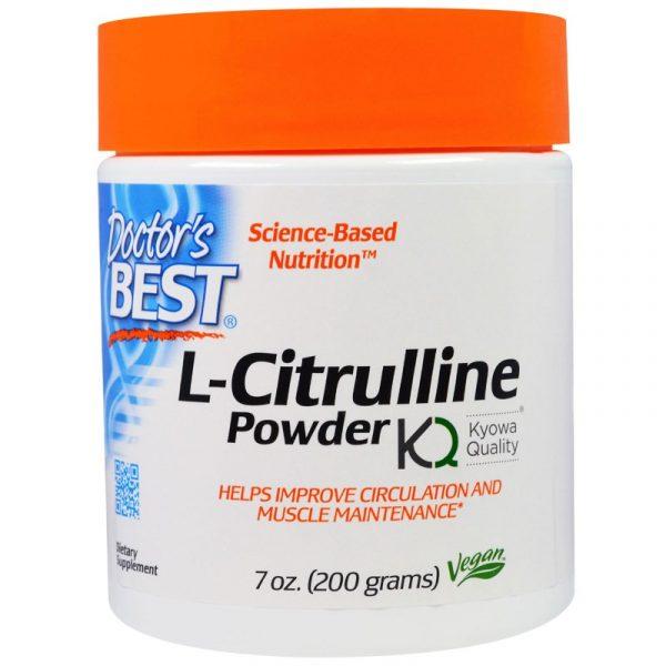 DRB 00437 1 600x600 - L-Citrulline Powder (200 g) - Doctor's Best