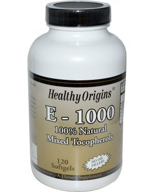 HOG 15150 1 1 300x375 - Healthy Origins, E-1000, 120 Softgels