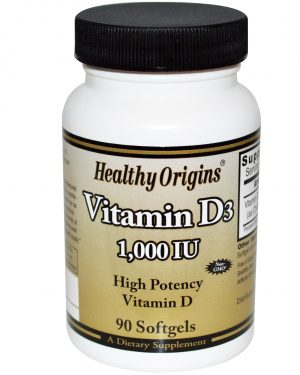 HOG 15313 5 1 300x375 - Healthy Origins, Vitamin D3, 1000 IU, 90 Softgels