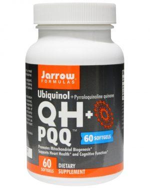 JRW 06028 1 1 300x375 - Ubiquinol QH + PQQ (60 gelcapsules) - Jarrow Formulas