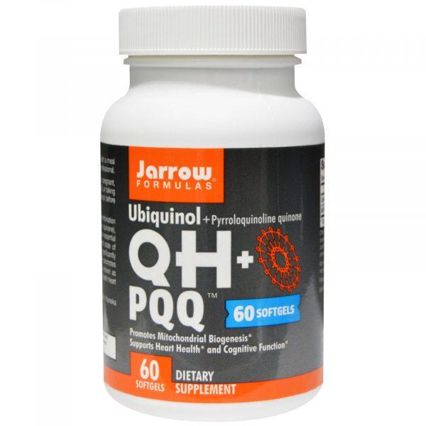 JRW 06028 1 1 600x600 - Ubiquinol QH + PQQ (60 gelcapsules) - Jarrow Formulas
