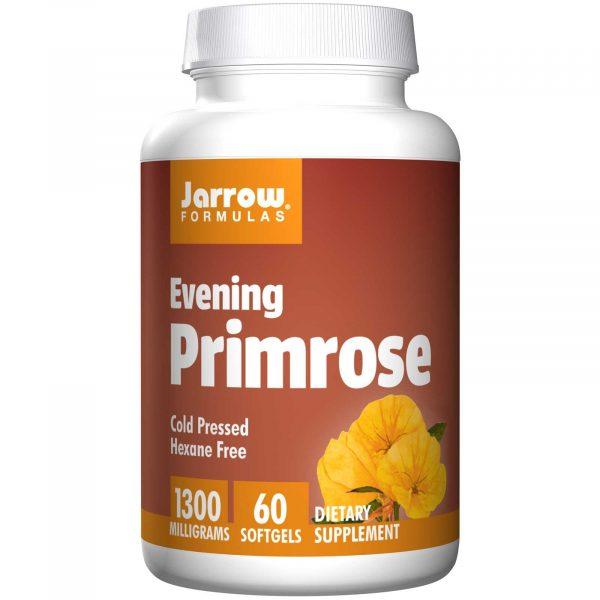 JRW 09002 5 1 600x600 - Evening Primrose 1300 mg (60 Softgels) - Jarrow Formulas